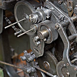 Maschinen-Gallon
