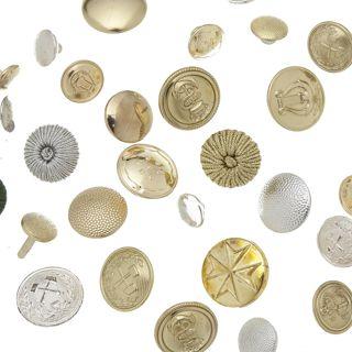 Metallwaren-Knoepfe